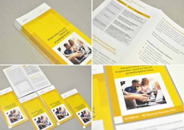 Materiały informacyjne - projekty graficzne