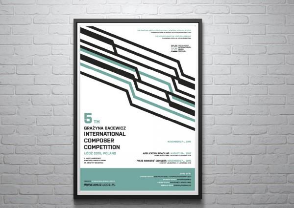 Projekty plakatów Łodź