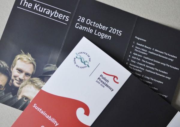 Zaproszenia na koncert The Kuraybers