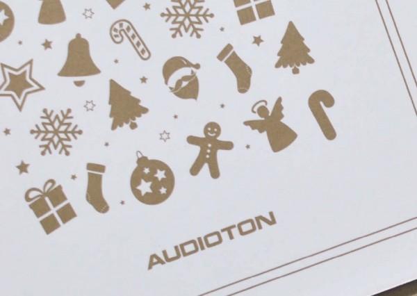Kartka świąteczna projekt graficzny