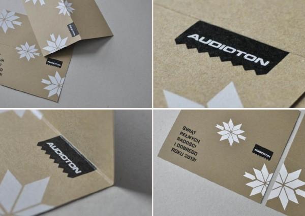 Kartka świąteczna - projekt graficzny