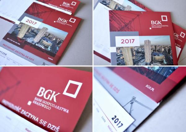 Projekty graficzne - Bank Gospodarstwa Krajowego