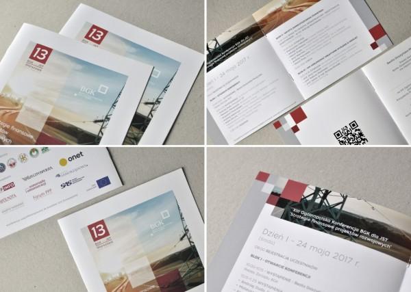 Projekty graficzne - zaproszenia, foldery