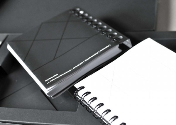 Firmowe notesy z logo