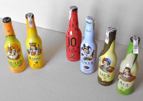Etykiety na butelki - projekty graficzne