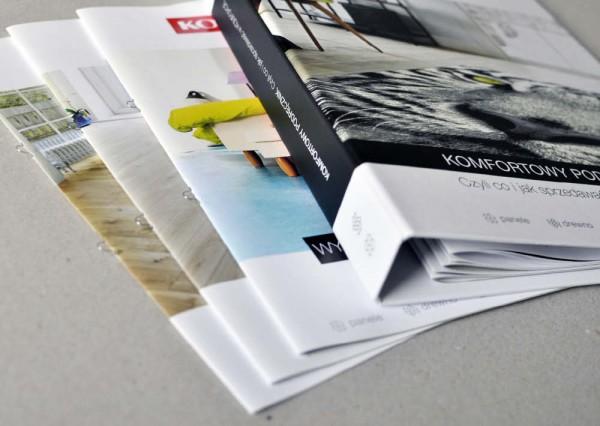 Materiały wydawnicze - projekty graficzne