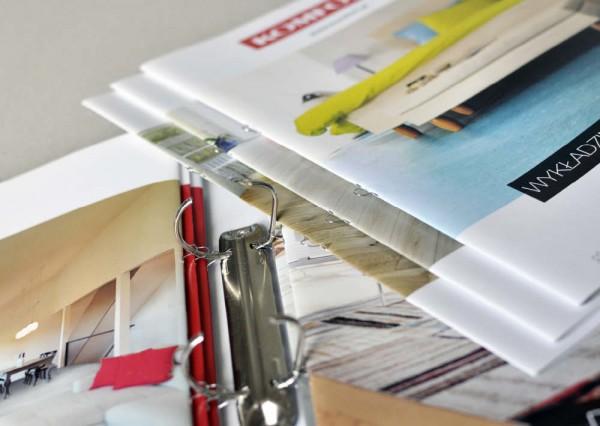 Projekty graficzne wydawnicze