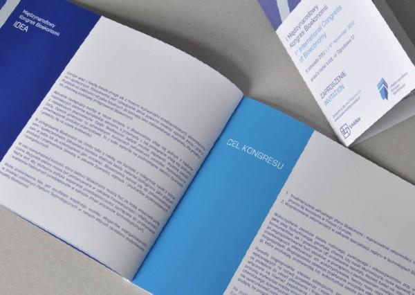 Identyfikacja wizualna - projekt broszury