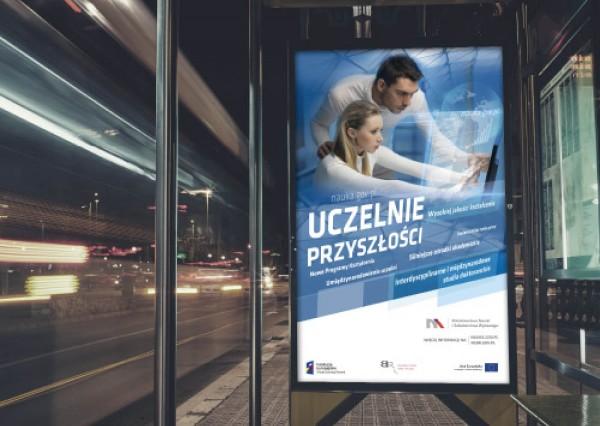 Projekt graficzny - uczelnie przyszłości