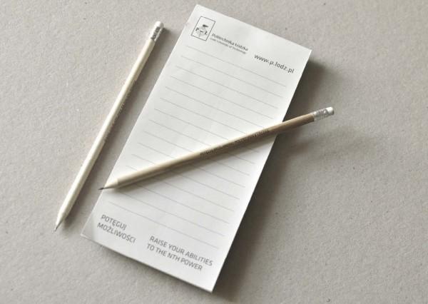 Notes reklamowy z ołówkiem
