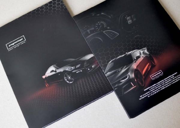 projektowanie graficzne - druku firmowego