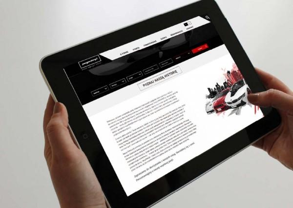 Projektowanie graficzne - strony www