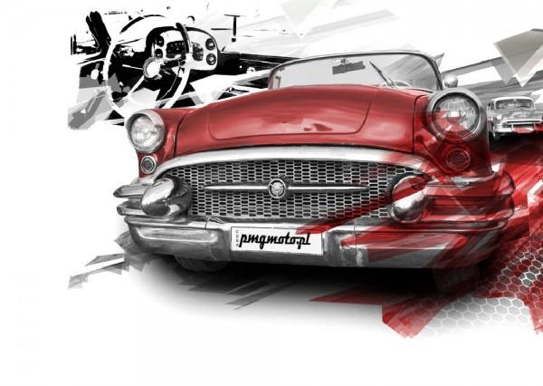 Projekt graficzny - branża motoryzacyjna