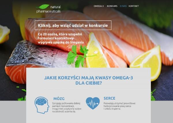 Projekt graficzny - Strona internetowa