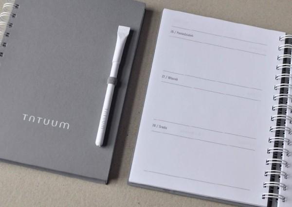 Notes i długopis z logo firmy