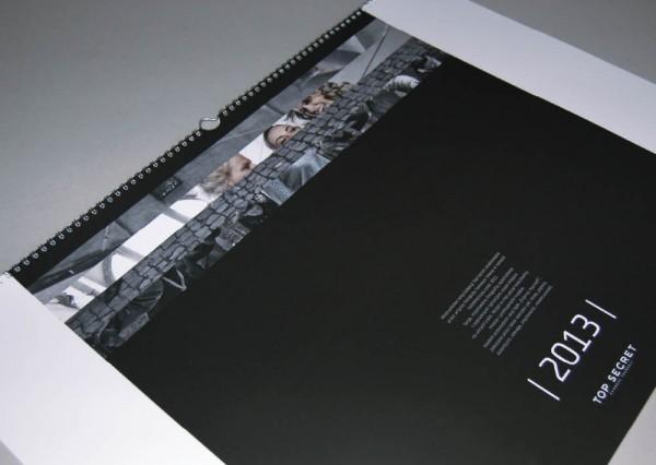 Kalendarz firmow z logo