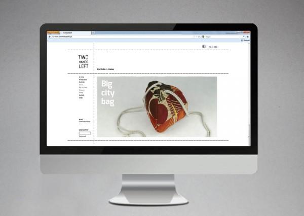 Projekt grafiki - layout strony www