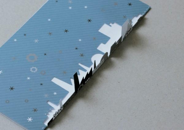 Kartka świąteczna - projektowanie
