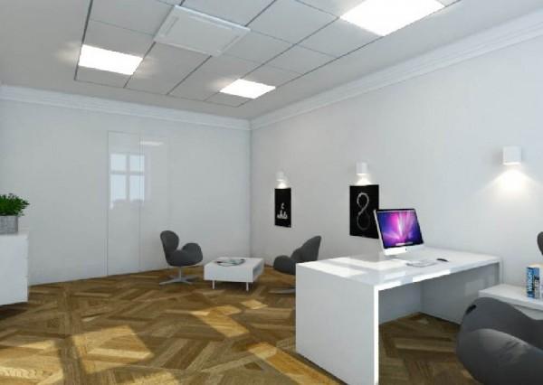 Projektowanie grafiki - Wnętrze biura