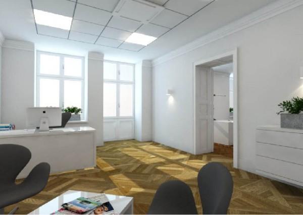 Projekt grafiki - Wnętrze biura
