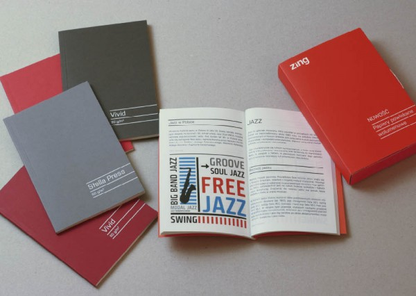 Publikacje, książki - projekty graficzne
