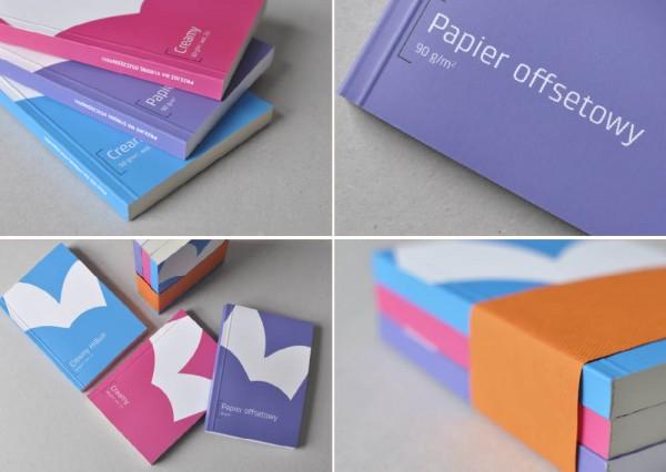 Projekty graficzne - papiery wolumenowe