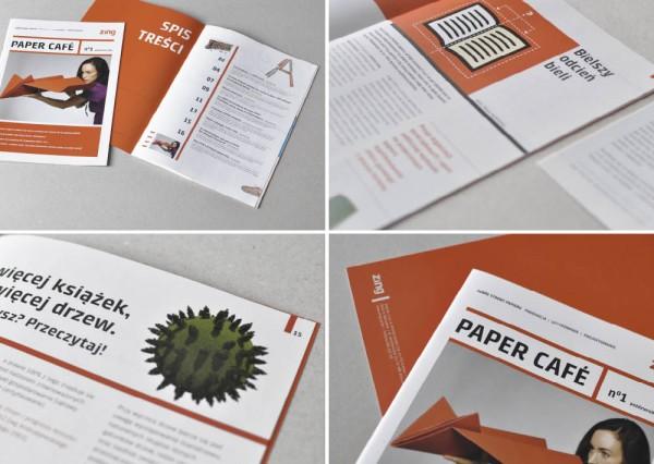 Projekt graficzny magazynu Paper Cafe