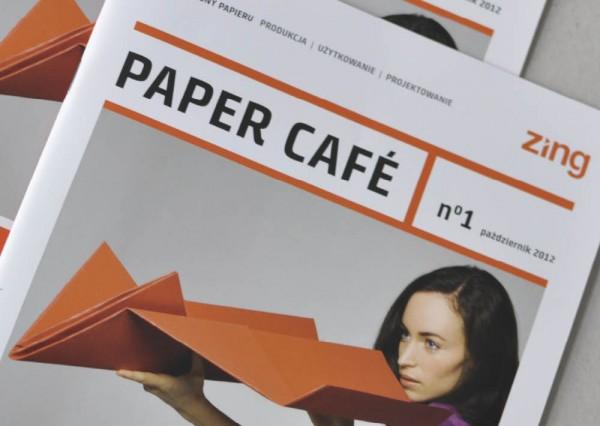 Magazyn Paper Cafe - projekt graficzny